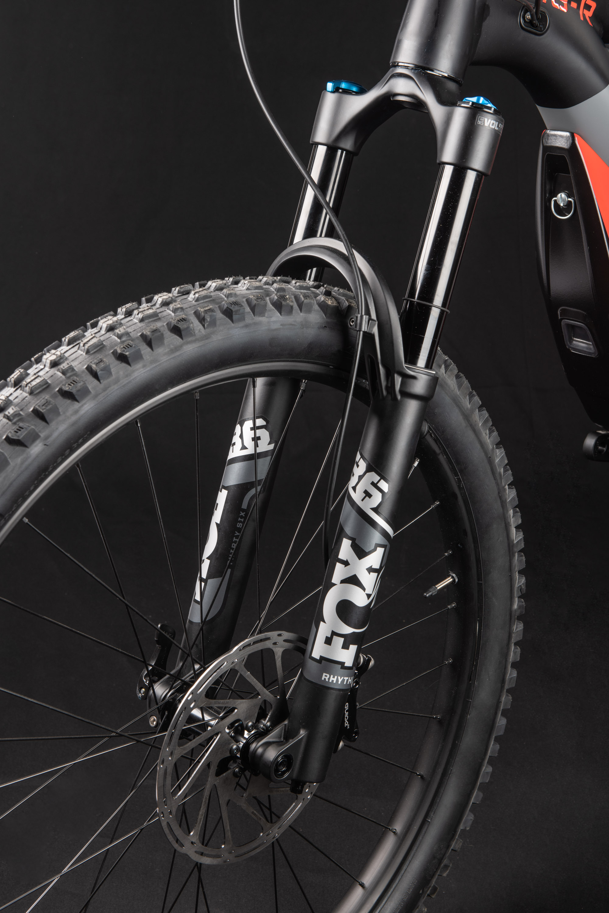 Suspension system designed for e-bikes.