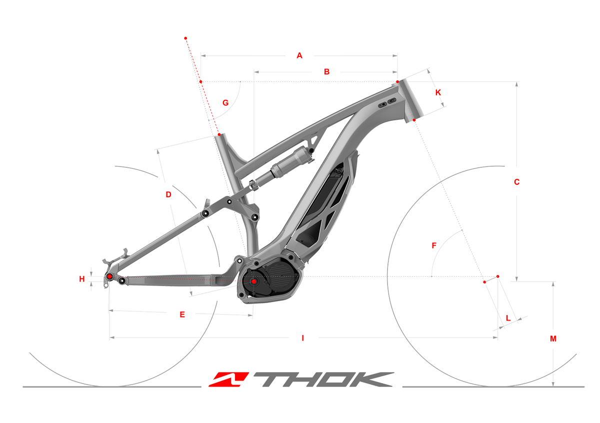 Electric bicycle specs, e-bike and mountain bike for trial and outdoor action lifestyle. Thok Ebikes.